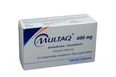 Multaq 400 mg Caja Con 30 Tabletas Rx