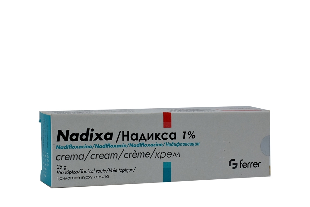Nadixa Crema 1 % Caja Con Tubo Con 25 g
