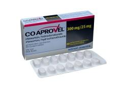 Coaprovel 300 / 25 mg Caja Con 28 Comprimidos Recubiertos  Rx