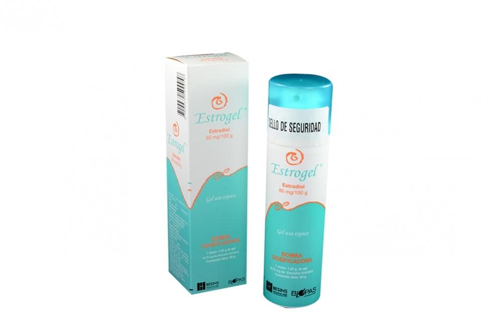 Estrogel 60 mg / 100 g Caja Con Una Bomba Dosificadora Rx