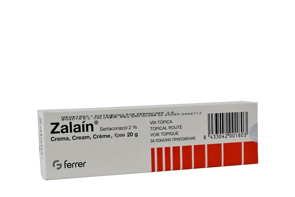 Zalaín Crema 2 % Caja Con Tubo X 20 g RX