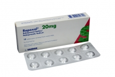 Rapoxol 20 mg Caja X 10 Tabletas Rx
