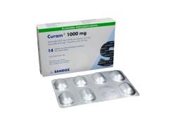 Curam 1000 mg  Caja Con 14 Tabletas Con Pelicula Rx2