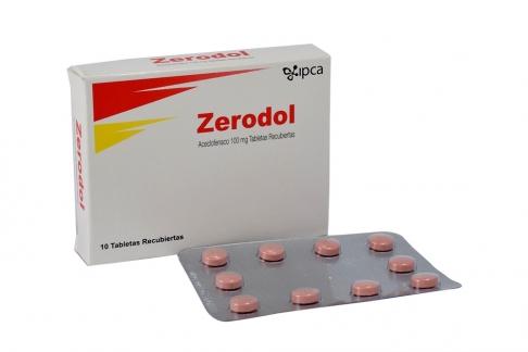 Zerodol 100 mg Caja Con 10 comprimidos RX