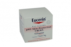Eucerin Ph5 Skin Protection Crema Caja con Pote Con 75 mL