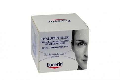 Eucerin Hyaluron Filler Caja Con Frasco Con 50 mL- Antiarrugas Día
