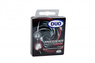 Condones Duo Tornado Passion Caja Con 3 Unidades