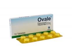 Ovale 200 mg Caja Con 10 Tabletas Rx