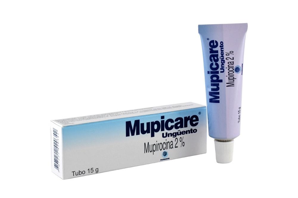 Mupicare En Ungüento 2 % Caja Con Tubo Con 15 g Rx2