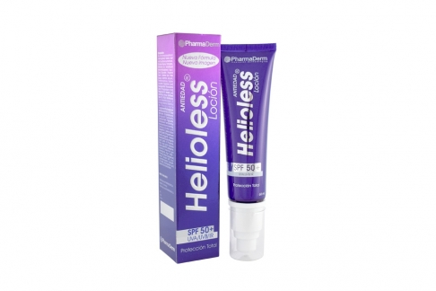 Helioess Loción SPF 50+  Caja Con Tubo Con 60 mL