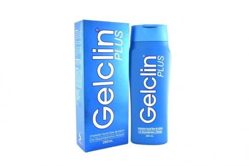 Gelclin Plus Limpiador Facial Caja Con Frasco Con 280 mL