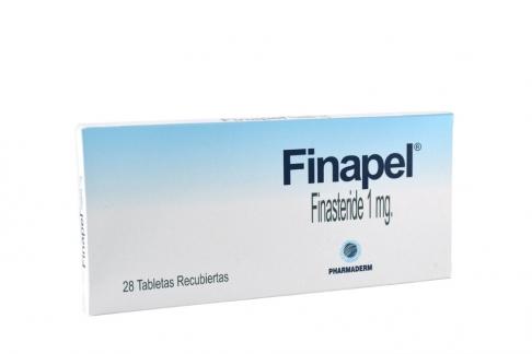 Finapel 1 mg Caja Con 28 Tabletas Recubiertas Rx4