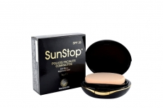 Polvos Faciales SunStop SPF26 Estuche Con 10 g - Trigueño