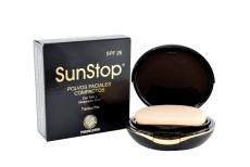 SunStop Polvos Faciales Compactos Translúcidos Caja Con Estuche Con 10 g