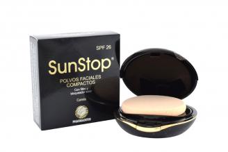 SunStop Polvos Estuche Con 10 g - Tono Canela