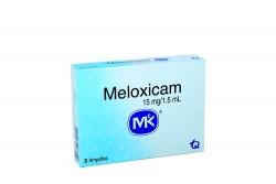 Meloxicam 15 mg / 1.5 mL Caja Con 3 Ampollas Rx
