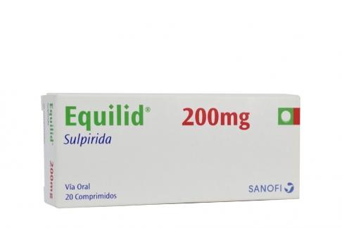 Equilid 200 mg Caja Con 20 Comprimidos RX4