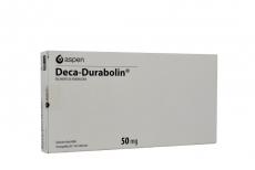 Deca-Durabolin Solución Inyectable 50 mg Caja Con 10 Ampollas Con 1 mL cada una.