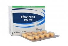 Efavirenz 600 mg Caja Con 30 Tabletas Recubiertas Rx4
