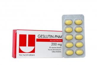 Geslutin-PNM 200 mg Caja Con 20 Cápsulas Blandas RX
