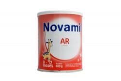 Novamil AR Lata Con 400 g Con Cuchara Plástica - 0 a 12 meses