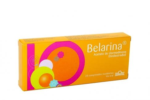 Belarina Caja Con 28 Comprimidos Recubiertos RX