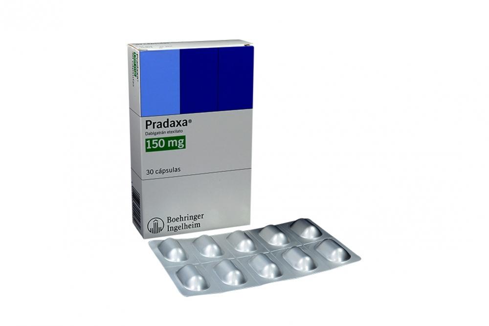 Pradaxa 150 mg Caja Con 30 Cápsulas Rx4