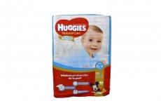 Pañales Desechables Huggies Natural Care Paquete Con 56 Pañales - Niños Talla G 3