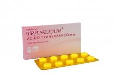 Tranexam 500 mg Caja Con 10 Tabletas RX