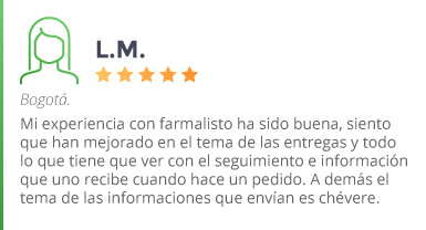 Testimonio LM Bogotá