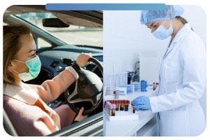 Prueba diagnóstico PCR AUTOLAB o laboratorio