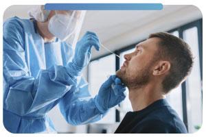 Prueba diagnóstico PCR a domicilio