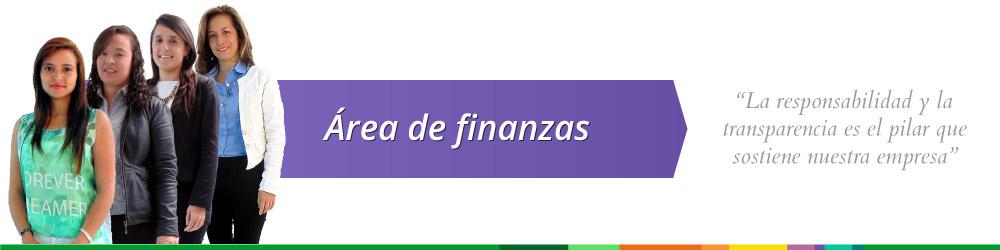Área de finanzas