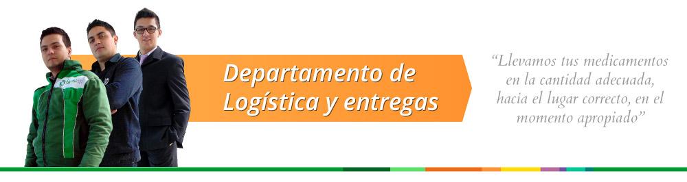Departamento de Logistica y entregas
