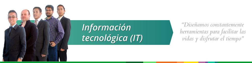 Información tecnológica (IT)