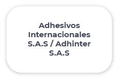 Adhesivos Internacionales S.A.S / Adhinter S.A.S